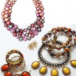 Mixed Texture and Color Jewelry