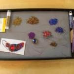 Organized Seed Bead Mat