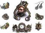 Steampunk Jewelry by Daniel Proulx