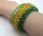 Right Angle Weave Bracelets