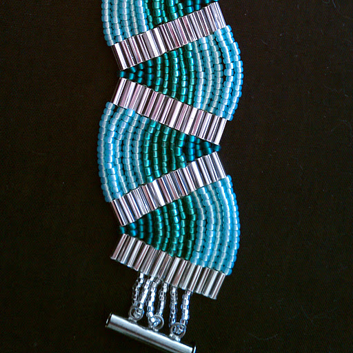 Ladder Stitch Bracelet