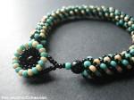 Stone Spiral Bracelet