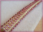Runway Right Angle Weave Bracelet
