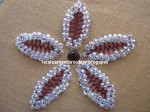 Bead Embroidery Cretan Stitch Flower