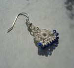 Simple Bead Crochet Earrings