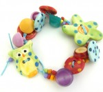 Ceramic Button Bracelet