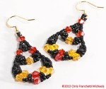 Fiesta Twin Bead Earrings