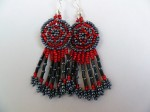 About Native American Seed Bead Work seed beads Native American seed bead jewelry Native American inspired trends Native American color meanings Native American beaded medallion Native American beaded bracelet. Native American bead designer color beadweaving beads beading inspiration beading About Native American Seed Bead Work