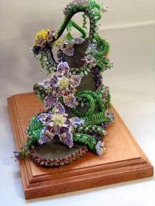 Hannah Rosner wins TOHO Advanced Beadwork Category