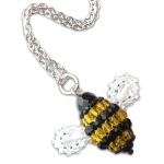 Crystal Beaded Bee
