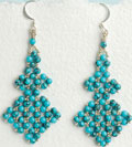 Right Angle Weave Earrings