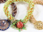 Turkish Delight Bead Crochet Bracelet