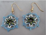 Star Beaded Earring