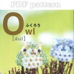 3D Beads Owl Swarovski Beading Pattern