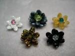 Tiny Flowers from Long Magatamas