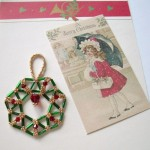 Flat Bugle Bead Ornament