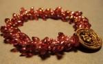 Long Magatama Spiral Bracelet