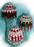 Bead and Crochet Ornament Covers