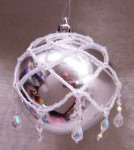 Netted Christmas Ornament Cover