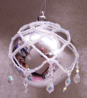 Beaded Christmas Ornaments Patterns.Free Beaded Christmas Ornament Patterns Netted Cover