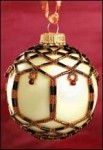 Holiday Carol Nettted Ornament