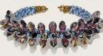 Kumihimo Spikes Bracelet