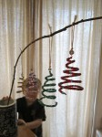 Beaded Spiral Christmas Tree