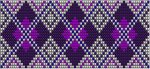 Purple Diamon Loom Pattern