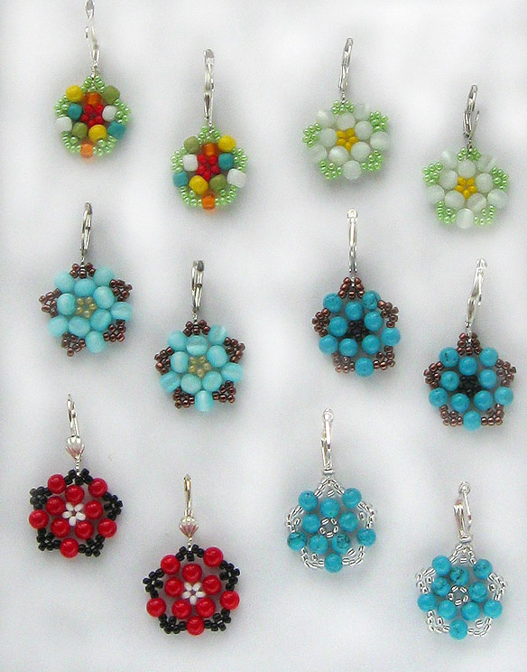 free seed bead earring patterns black cat beaded