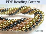 Free Herringbone Bead Patterns tubular herringbone Thanksgiving turkey bracelet Herringbone basics herringbone and peyote stitch bezel graduated herringbone bobble rope free herringbone bead patterns flat woven herringbone bracelet fall herringbone patterns cubed herringbone stitch bead stitching pentagons