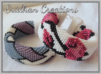 Ravelry: Beaded, Crocheted Friendship Bracelets pattern by