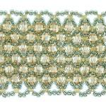 Netted Cuff Bracelet