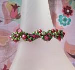 Pearl Spiral Bracelet