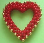 Beadwoven Heart