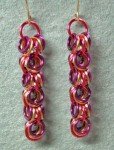 Shaggy Loops Chain Maille Earrings