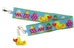 Duck and Egg Easter Bracelet Pattern
