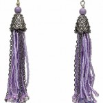 Seed Bead Dangles Earrings
