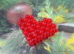 Right Angle Weave Beaded Heart