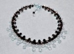 Dresden Necklace with Crystal Rondelle Beads
