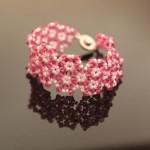 Florets Crystal Beaded Bracelet