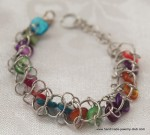 Choo Choo Train Bracelet Chain Maille