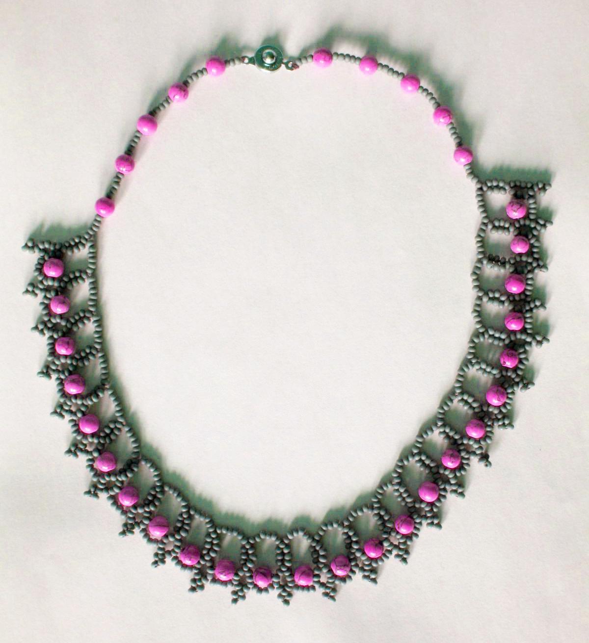 Free Seed Bead Patterns, Necklace, Monogram Coaster, Bracelet ...