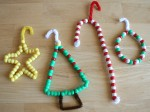 Easy Seed Bead Christmas Ornaments
