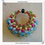 Hoola Hoop Peyote Stitch Earrings