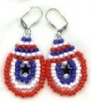 Happy Memorial Day   Patriotic Beading Projects white and blue patriotic bracelet red patriotic star earrings patriotic flag bead patterns patriotic christmas tree panel patriotic beading projects patriotic beading patterns how to make patriotic jewelry and a patriotic beaded bracelet how to make a patriotic bracelet 3 patriotic earring ideas