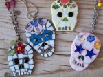Sugar Skulls Mixed Media Jewelry