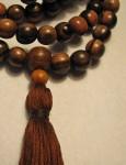 108 Bead Wooden Mala
