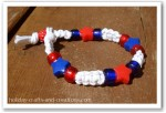 4th of July Patriotic Bracelet