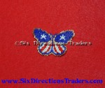Patriotic Butterfly Bead Pattern