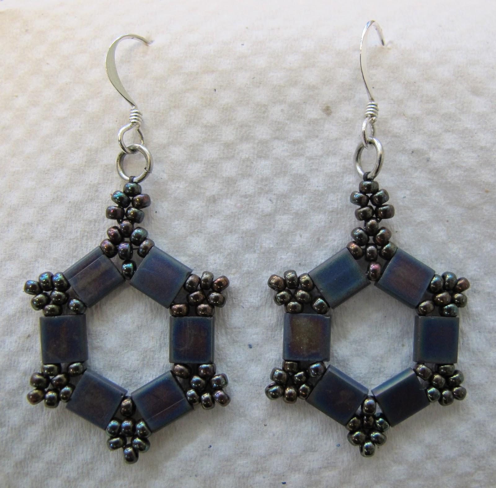 free tila bead jewelry patterns square stitch bracelet